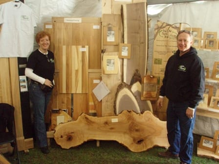 Wood From The Hood Owners -  Rick and Cindy Siewert of Minneapolis