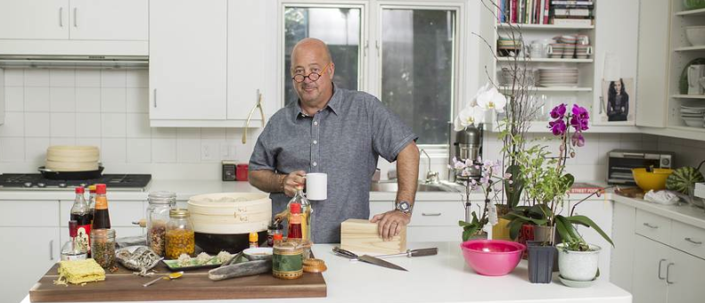 Andrew Zimmern Wood From The Hood Cutting Board photo credits Ackerman Gruber