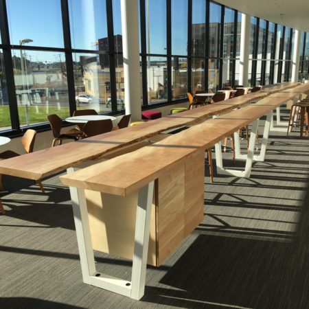 Reclaimed Live Edge Conference Table - Be The Match