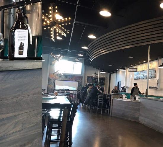 Reclaimed Urban Wood Modist Brewery Minneapolis
