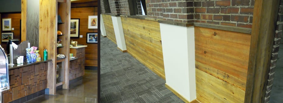 Commercial Architectural Design Wood From the Hood