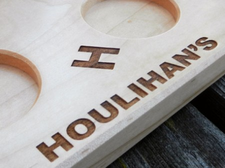 Houlihans Bar Accessories Wood From The Hood