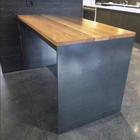 Reclaimed Urban Wood Counter Top