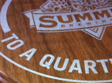 Summit Promotional Items Wood From the Hood