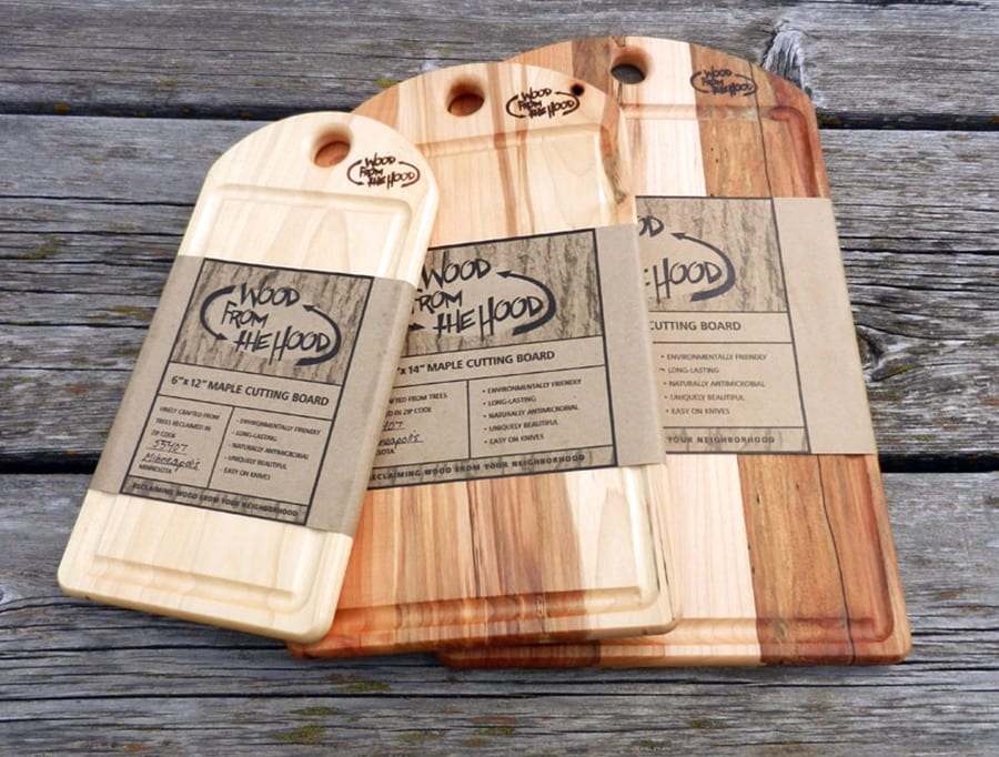 Cutting boards su maple lab wood from the hood