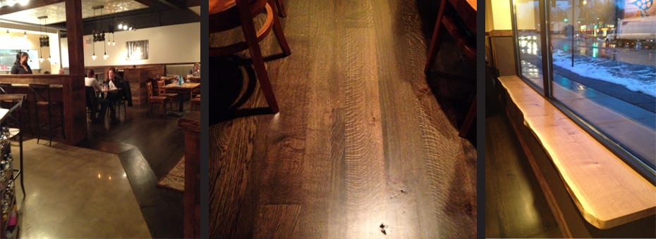 Reclaimed Table Benches Flooring - Miltons - Minneapolis