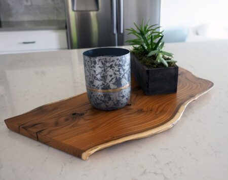 Natural Live Edge Wood Centerpiece Russian Olive Wood From the Hood