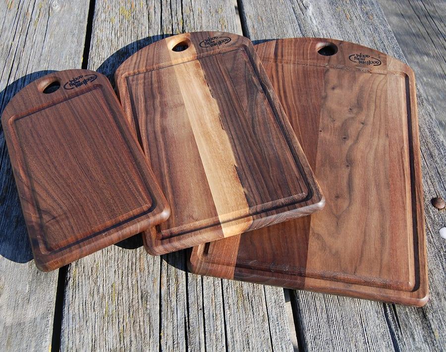 Cutting Boards Black Walnut Wood From The Hood