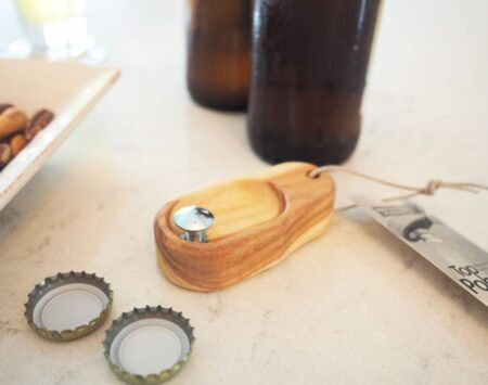 ash bottle opener top popper Wood From the Hood