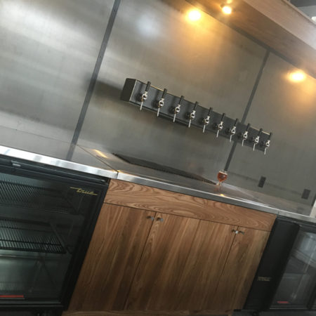 Urban Wood Cabinets - Dangerous Man Brewing Co.