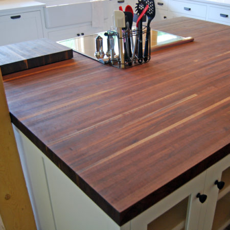 Center Island Counter Top - Cannon Family Fallen Walnut Tree