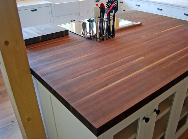 Minneapolis Reclaimed Communal Table Caribou Coffee Center Island Counter Top Cannon Family Fallen Walnut Tree
