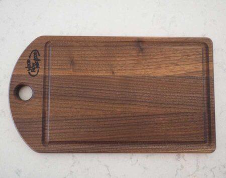 Wood From The Hood Black Walnut Cutting Board