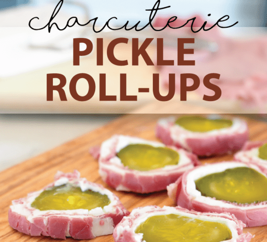 Charcuterie Pickle Rollups Quick Appetizer