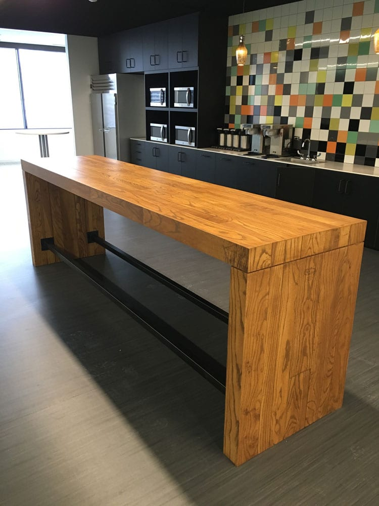 Reclaimed Wood Tables And Bar Counters Cafes Breweries