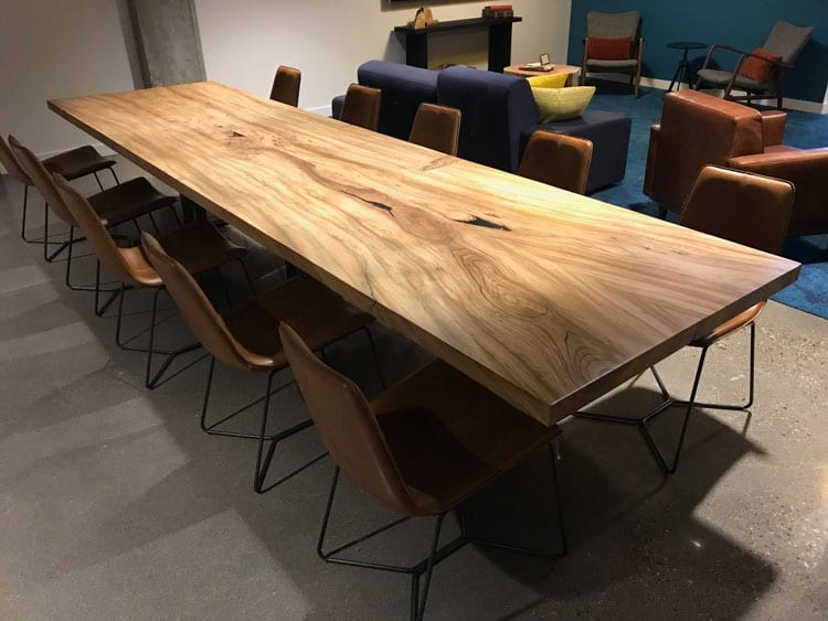 Reclaimed Wood Tables And Bar Counters Cafes Breweries Offices - Community table furniture