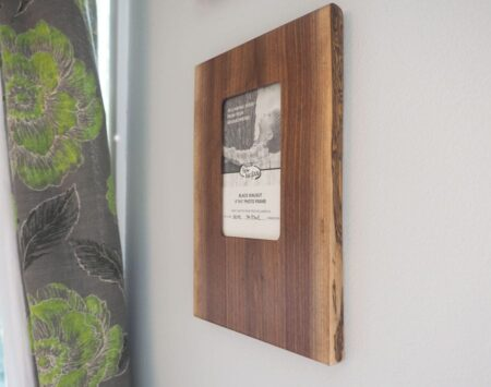 Live Edge Photo Picture Frame Wood From the Hood