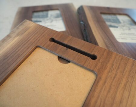 Picture Frame Live Edge Photo Wood From the Hood