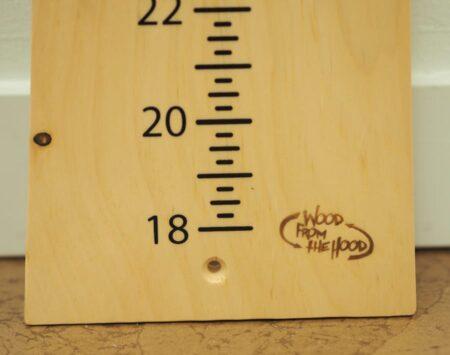 Growth Chart - Pine - Finished