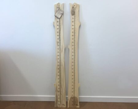 Growth Chart Reclaimed Hackberry Wood From the Hood