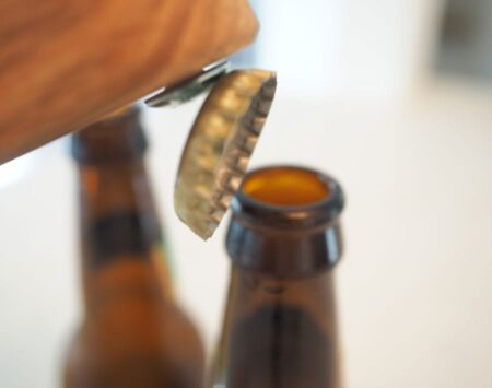 "Top Popper ""Mini"" Bottle Opener - White Oak"