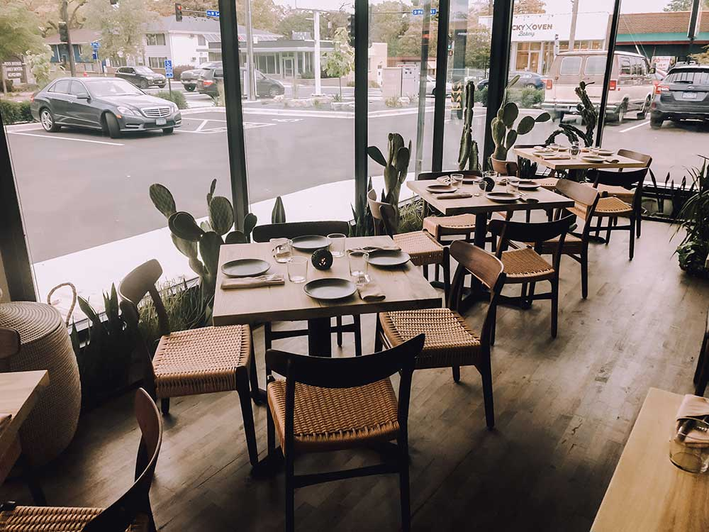 Wood Top Restaurant Tables Reclaimed Wood From the Hood Minneapolis Colita