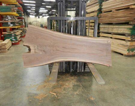 Black Walnut Natural Edge Slab Wood From the Hood Minneapolis