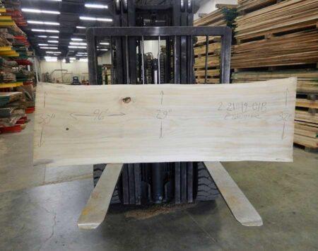 Cottonwood Live Edge Slab Wood From the Hood Minneapolis