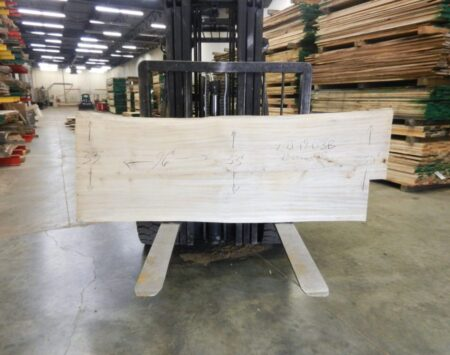 Cottonwood Live Edge Slab Wood From the Hood Minneapolis