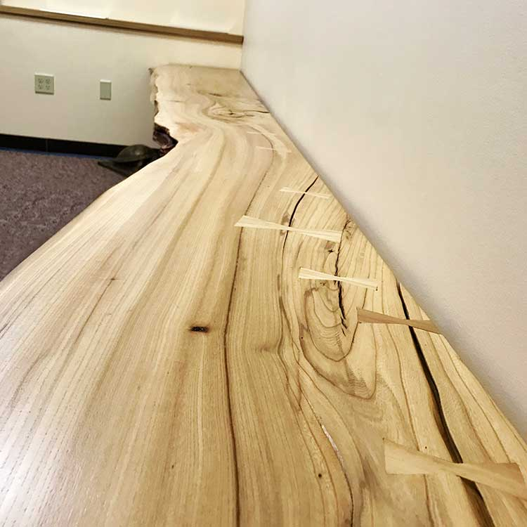 Natural Edge Bench Wood From the Hood Minneapolis
