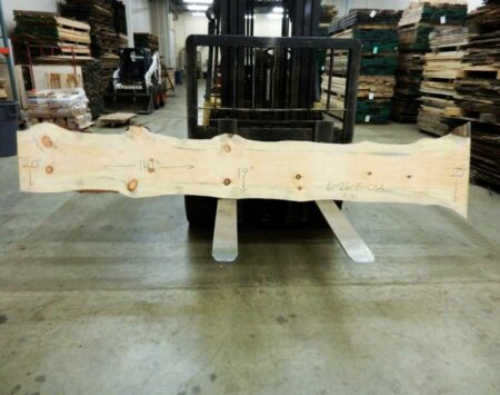 White Pine Slab Lumber Inventory Wood From The Hood