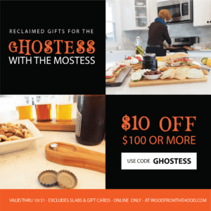 Wood From The Hood Ghostess Coupon