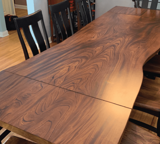 Residential Interior - American Elm Dining Table