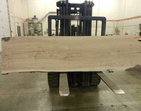 Ash Live Edge Slab Wood From The Hood