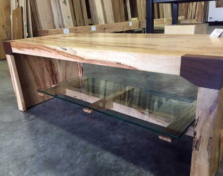 Spalted Maple Sofa Table Reclaimed Wood From The Hood