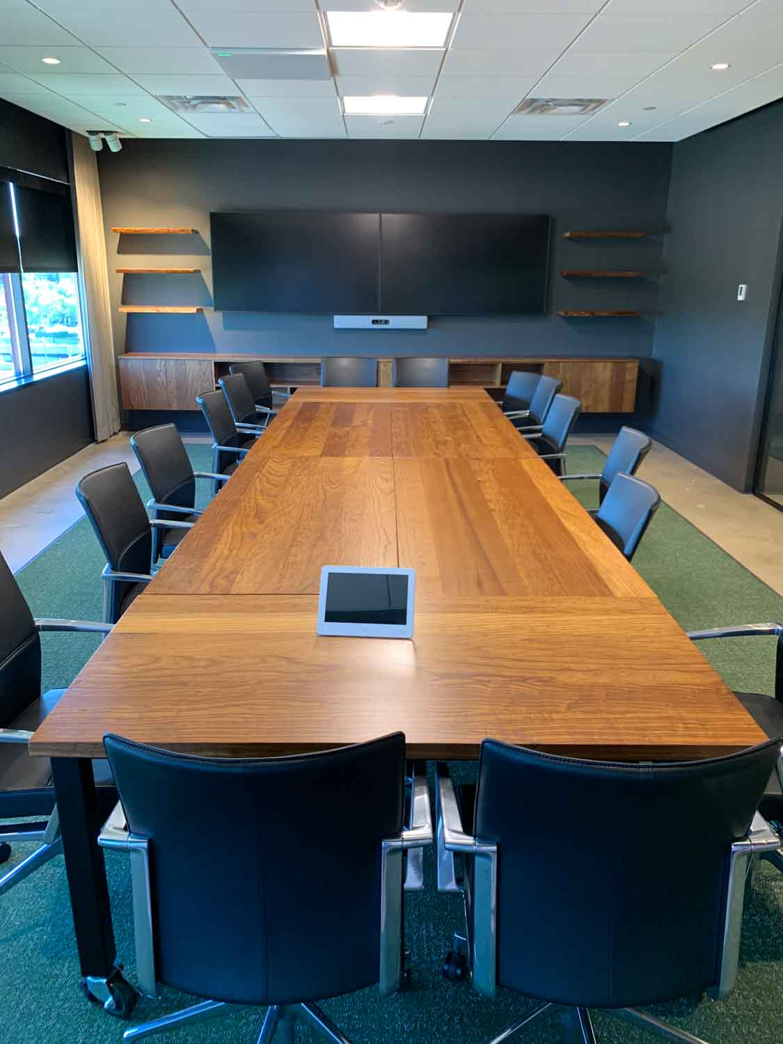 MA Mortensen Construction - Lancing Headquarters - Wood From The Hood