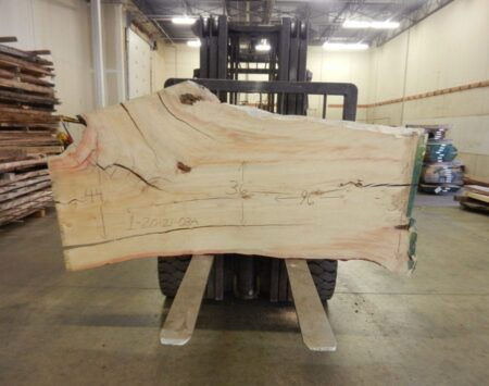 "Boxelder Natural Edge Slab #1-20-21-03 (96"" x 41"" x 2.25"")"