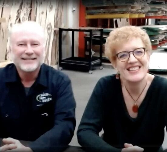 Video: Rick & Cindy Siewert Discuss Their Sustainable Woodworking Business with the MN Woodworkers Guild
