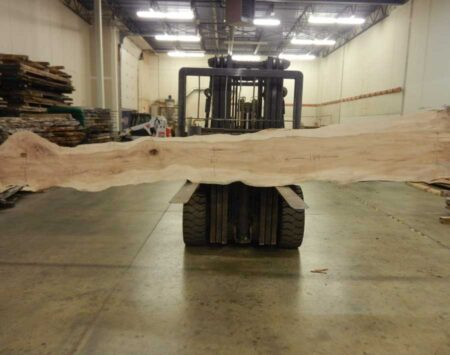 "Sugar Maple Natural Edge Slab #11-10-20-06 (194"" x 26"" x 2.25"")"