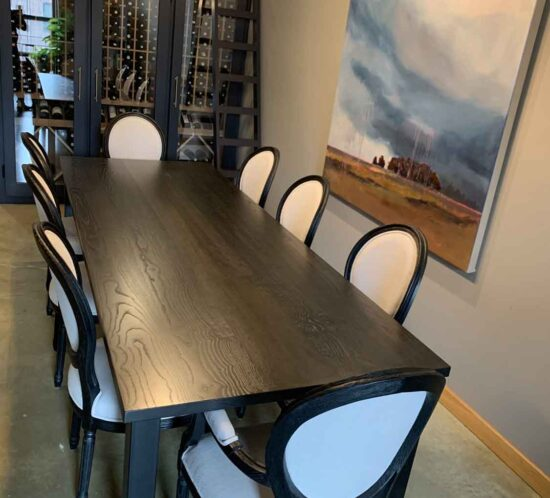 Book-Matched Dining Table - Wood From The Hood